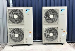 Daikin air conditioning at Advanced Medical Solutions